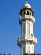 Minarets of white stone lace.