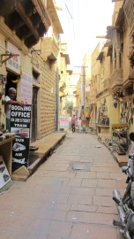 Inside the fort the roads wined like the canals of venice. An intentional maze to outsiders.